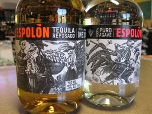 New labels for espolon tequila